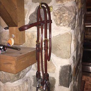 Vintage western bridle